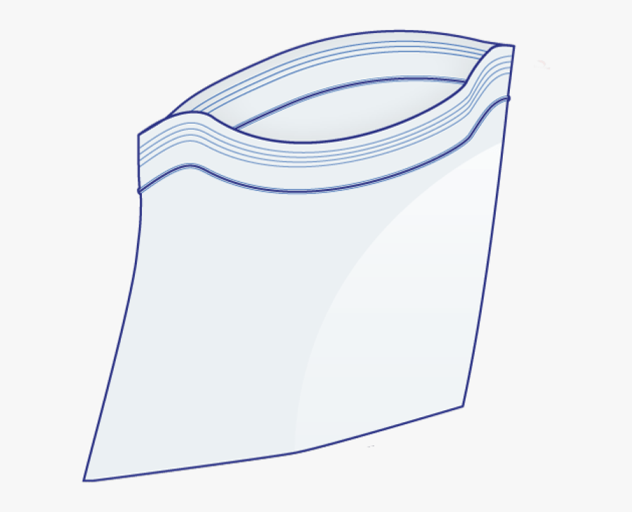 Transparent Ziplock Bags Clipart.