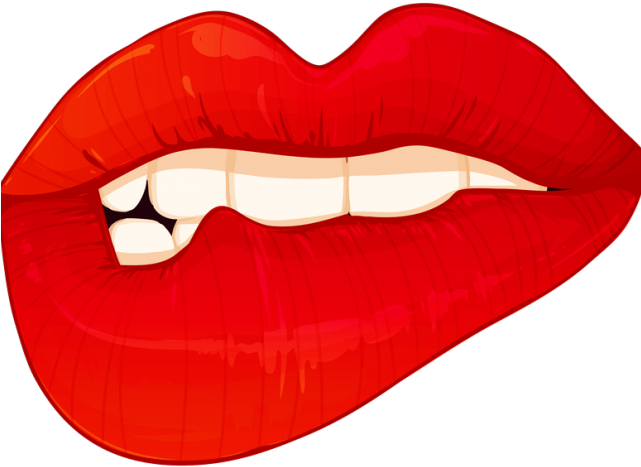 Lips Clipart Emoji.