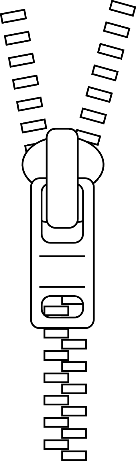 Zipper Black And White Png & Free Zipper Black And White.png.