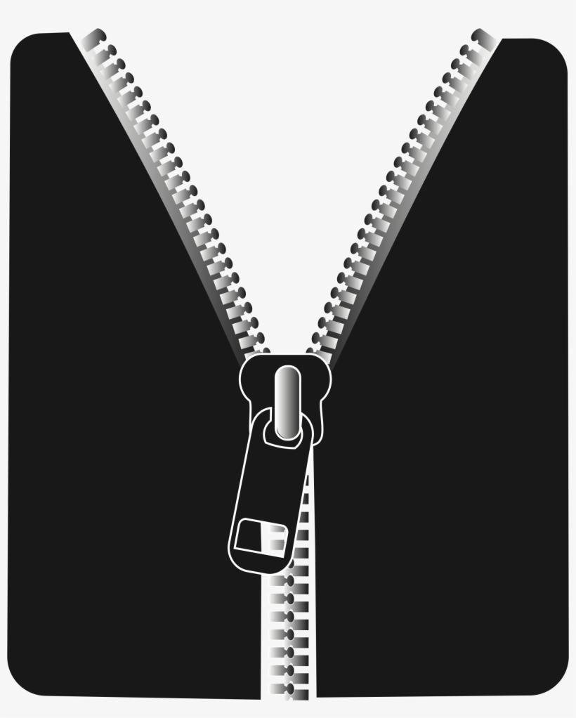 Zipper Clip Art.