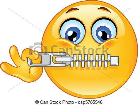 Zipper mouth clipart 2 » Clipart Station.