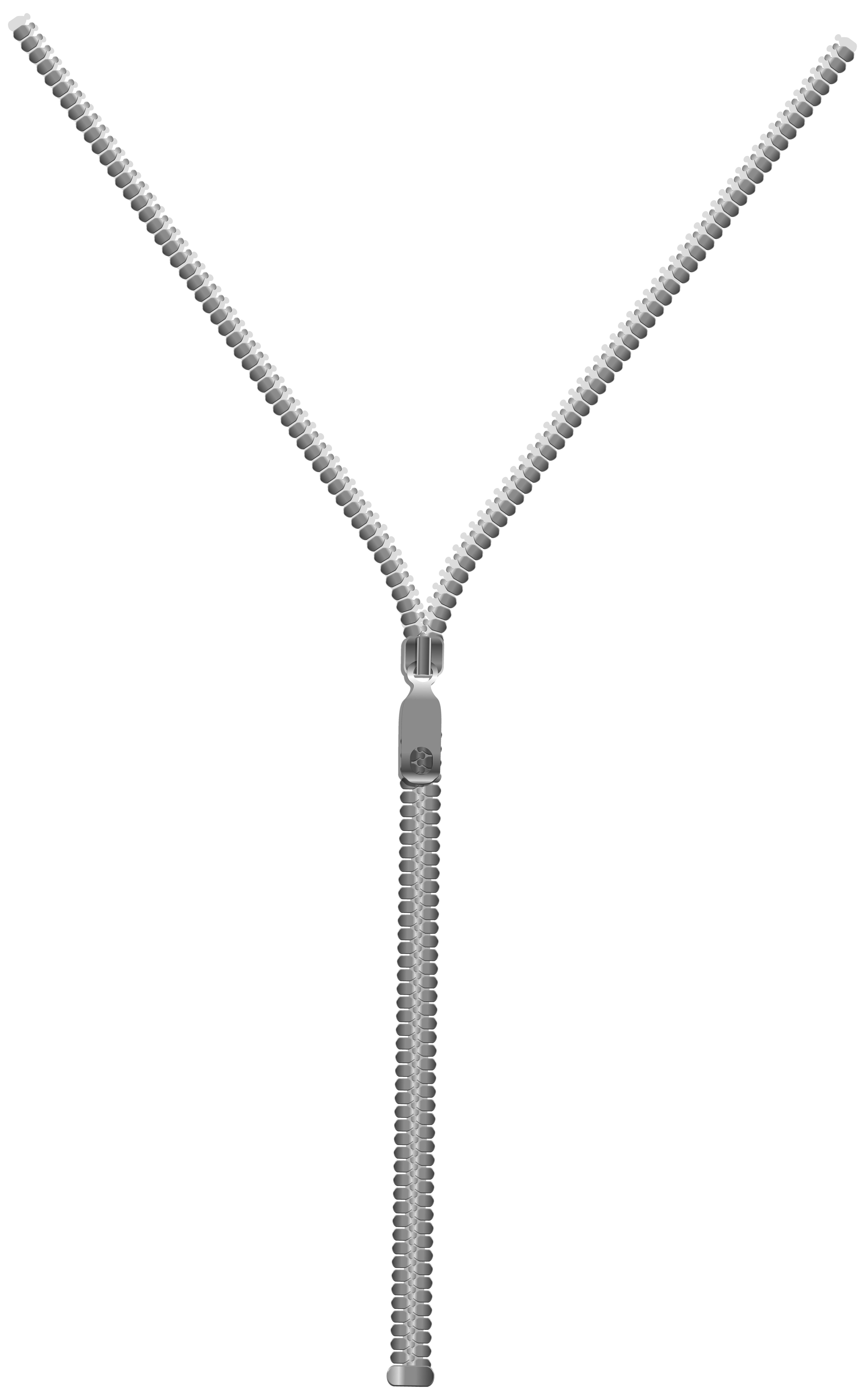 Zipper PNG Clip Art Image.