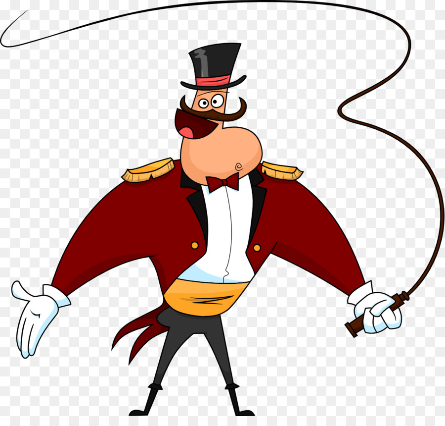 Zirkusdirektor Zirkus Animation Cartoon Clip art.