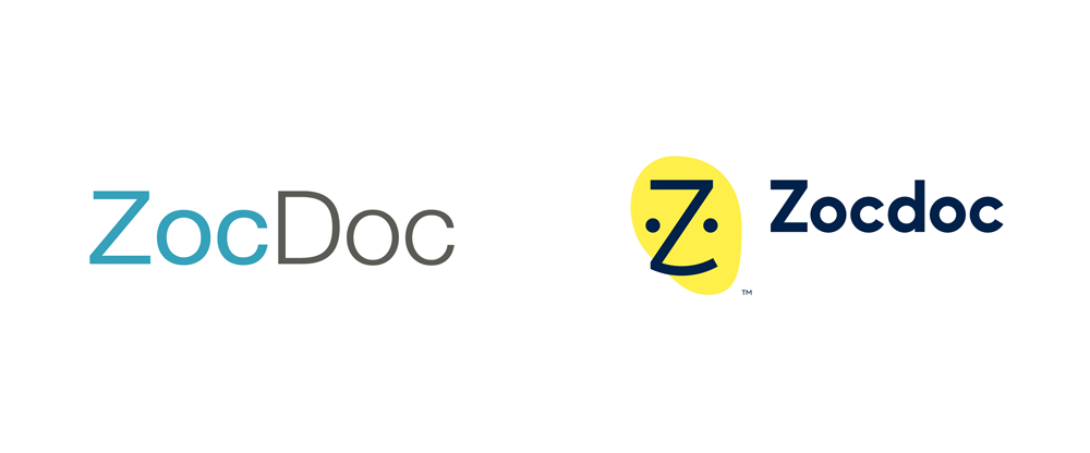 Brand New: New Logo and Identity for Zocdoc by Wolff Olins.
