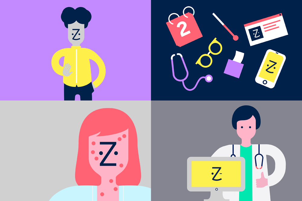 New Logo and Identity for Zocdoc by Wolff Olins.