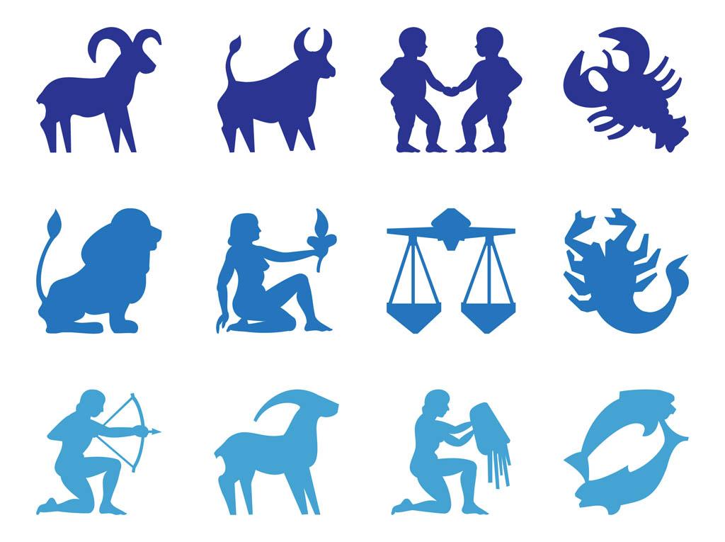 Zodiac Signs Clipart.