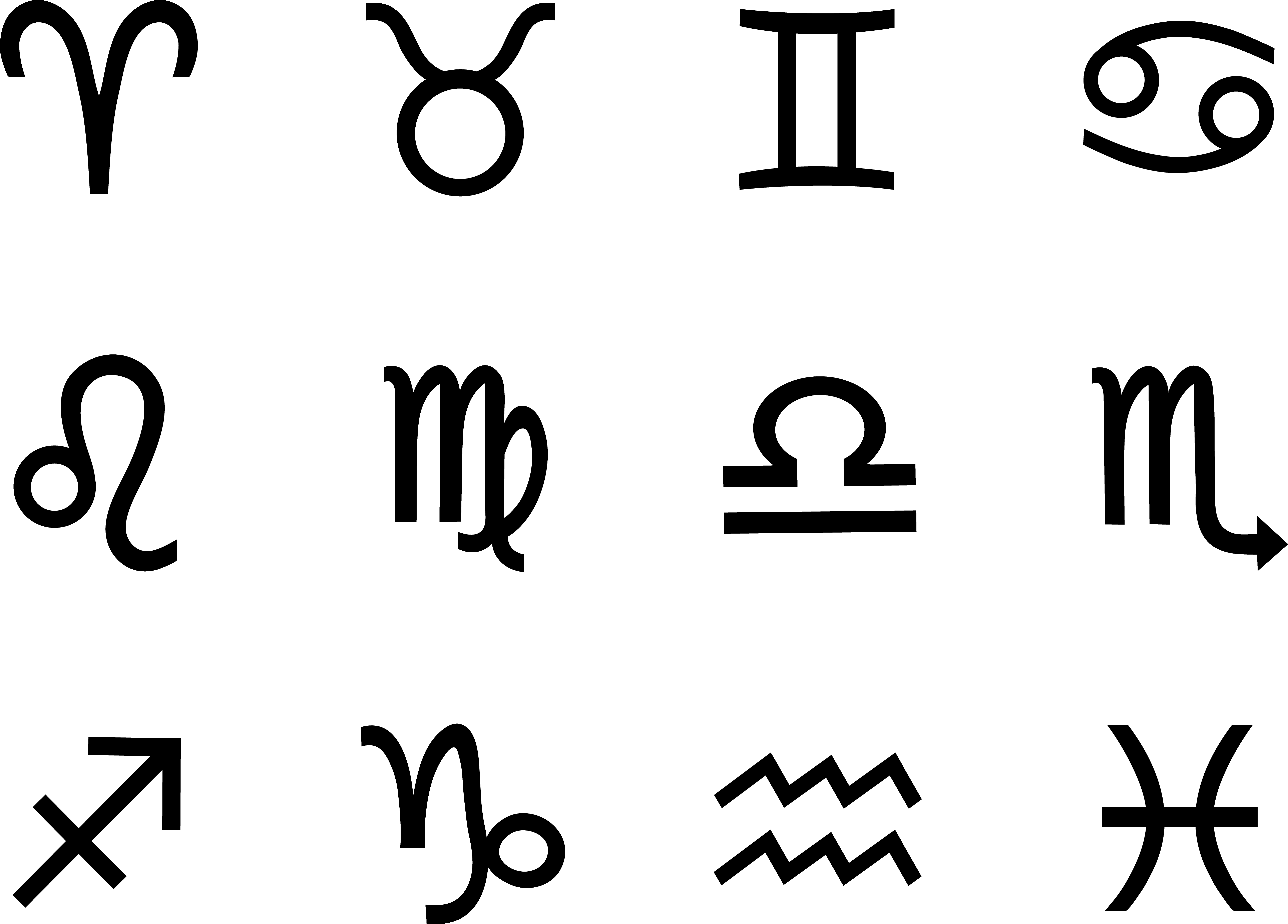 Free Zodiac Symbol, Download Free Clip Art, Free Clip Art on.