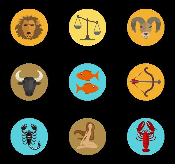 32 horoscope icon packs.