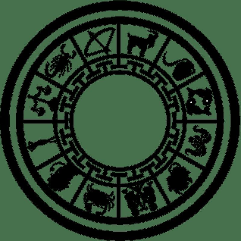 Zodiac Symbol transparent PNG.