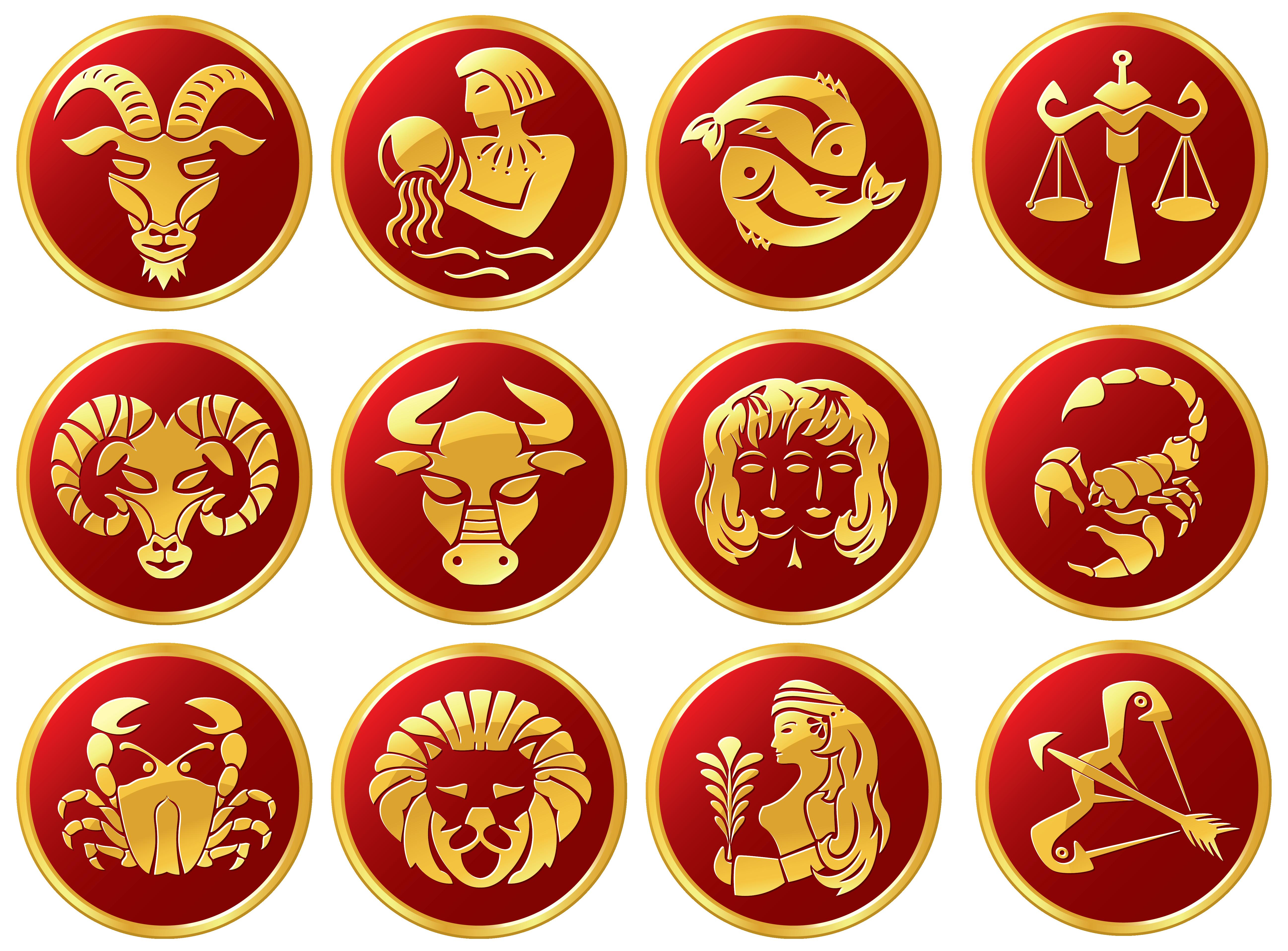 Zodiac Sign Clipart.