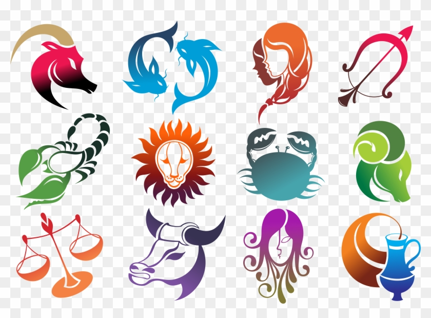 All 12 Zodiac Signs, HD Png Download.