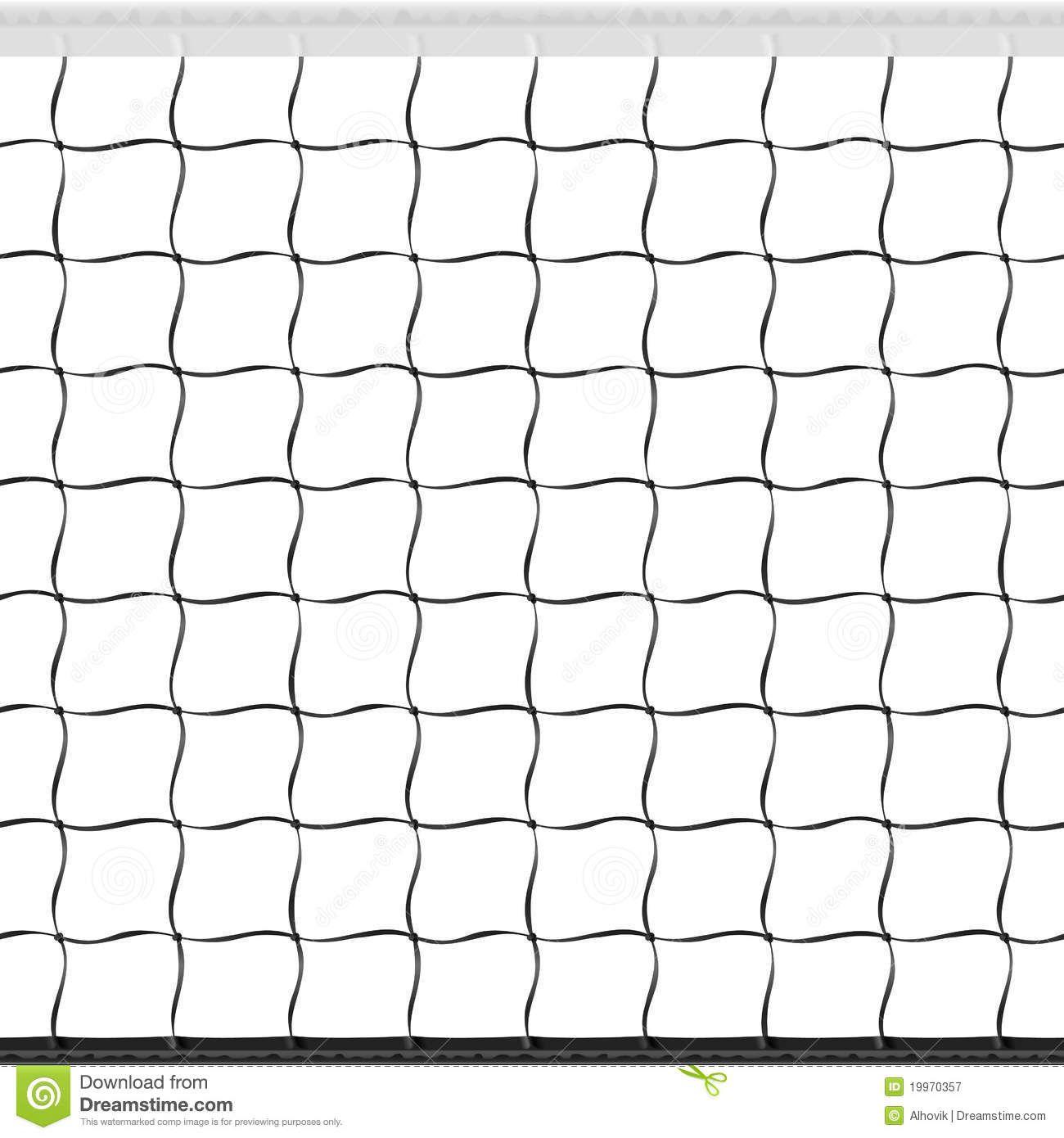 volleyball net pattern.