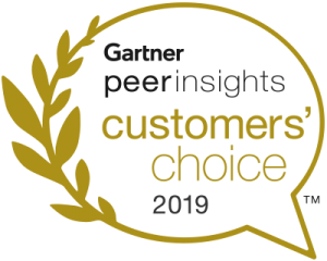 Zoho CRM named an October 2019 Gartner Peer Insights.