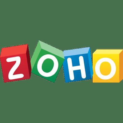 Zoho Logo transparent PNG.