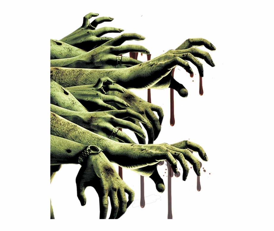 Zombie Arms Png Free PNG Images & Clipart Download #1610890.
