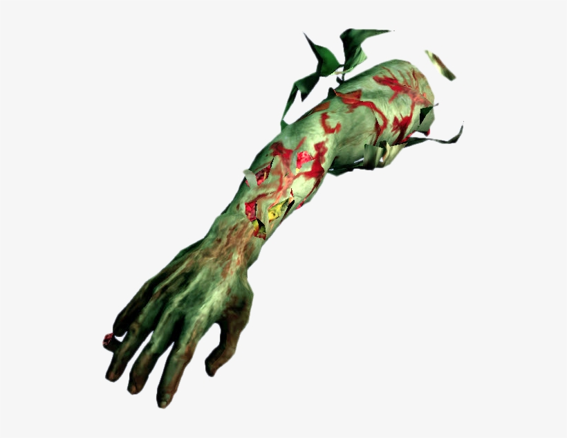 Zombie Arm Png.