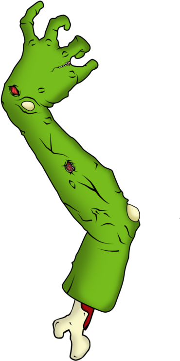 Download Zombie Arm Limbless PNG Image with No Background.