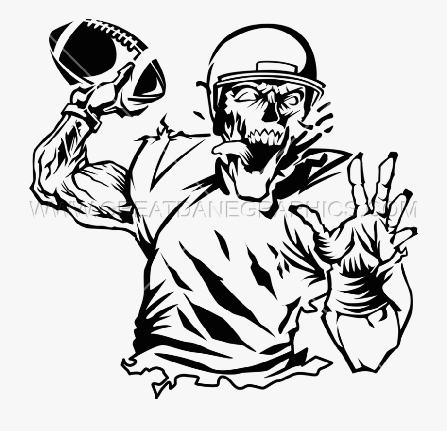 Clip Transparent Library Zombie Clipart Black And White.