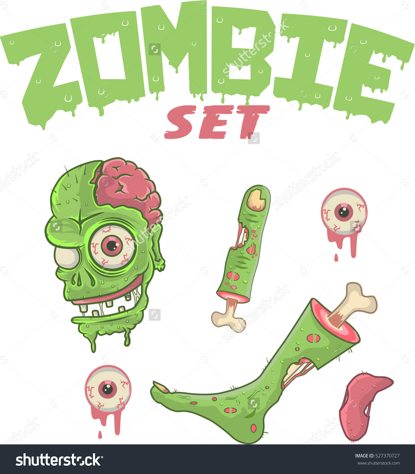 Showing post & media for Cartoon zombie body parts.