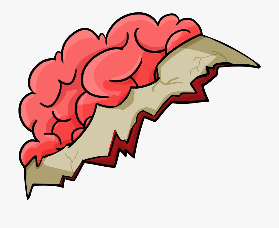 Vector Zombie Brain.
