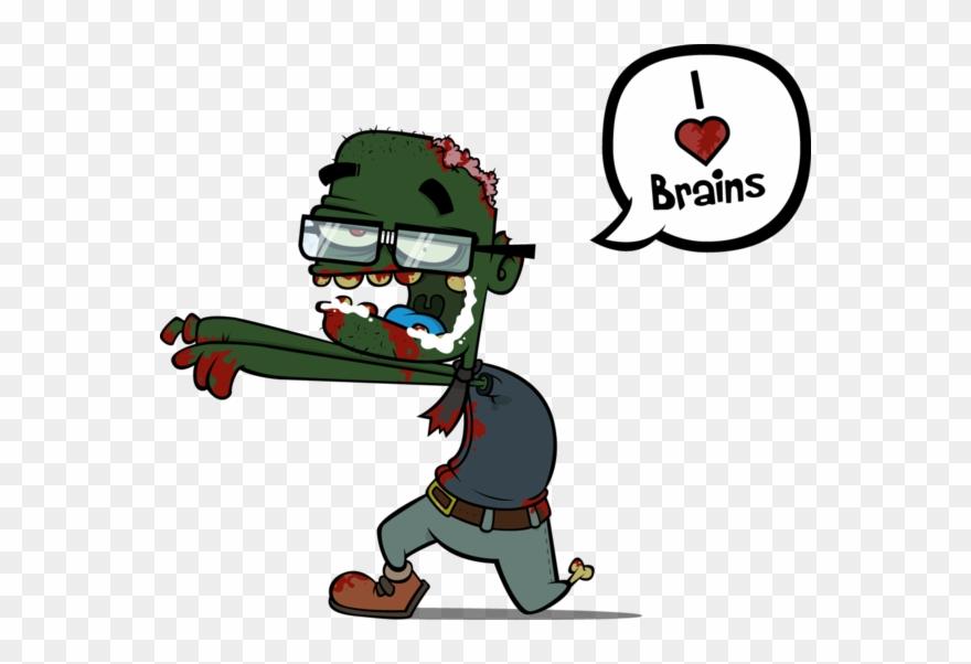 Zombie Brains Png Clipart (#1794119).