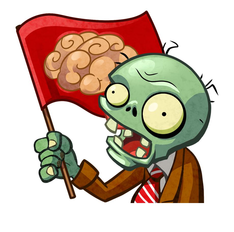 Transparent Zombie Brains Clipart.