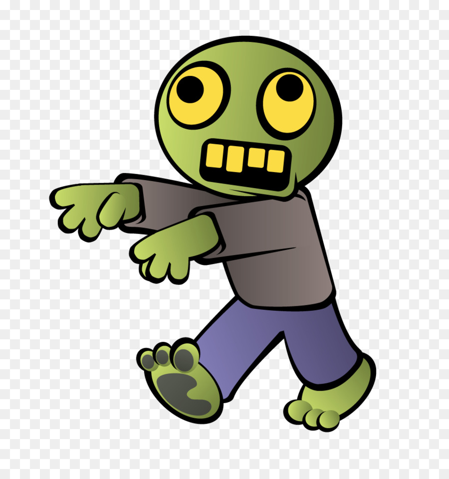 Zombie Cartoon clipart.