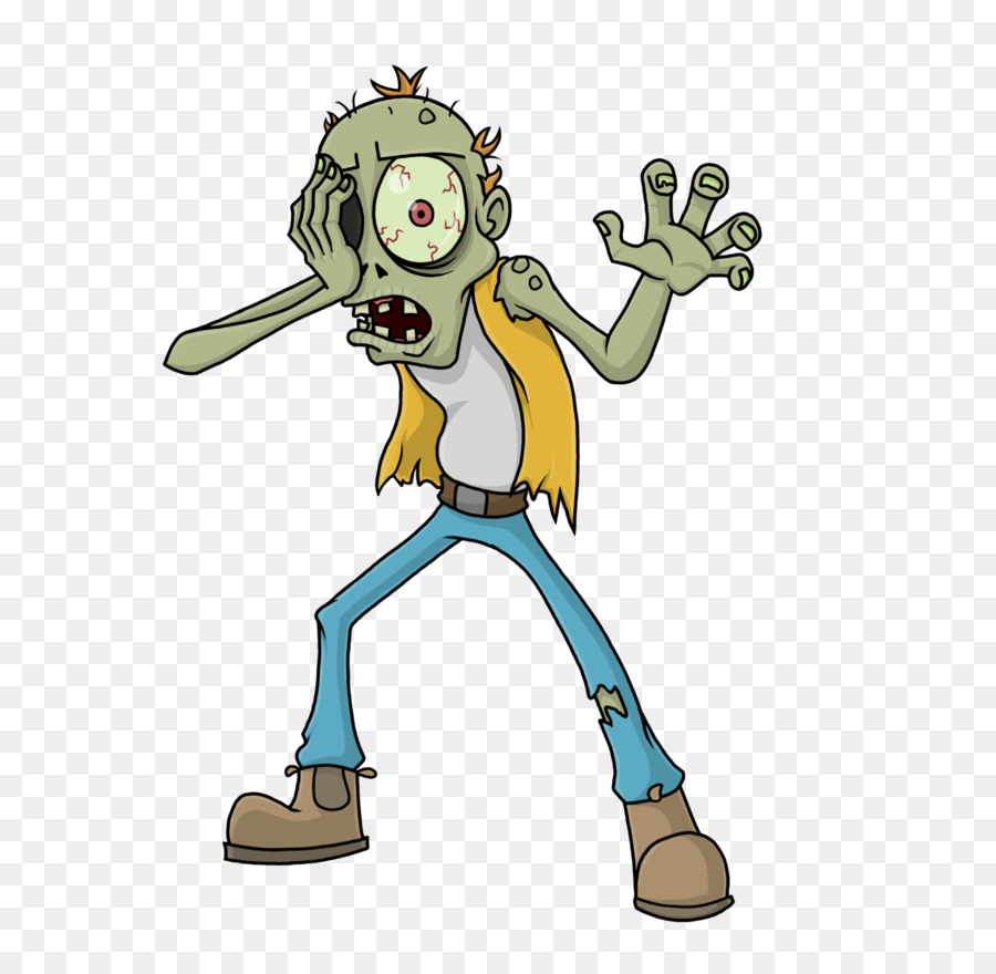 Free Cartoon Zombie Transparent, Download Free Clip Art.