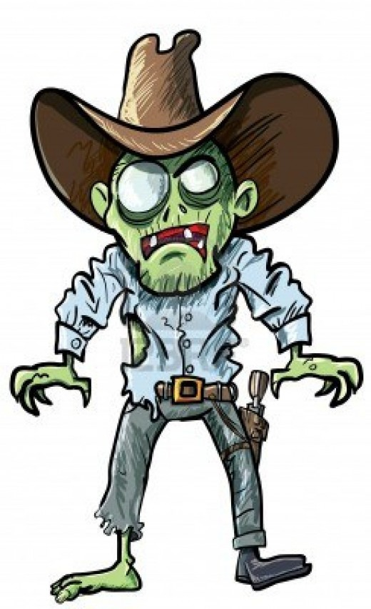 Zombie Clipart.