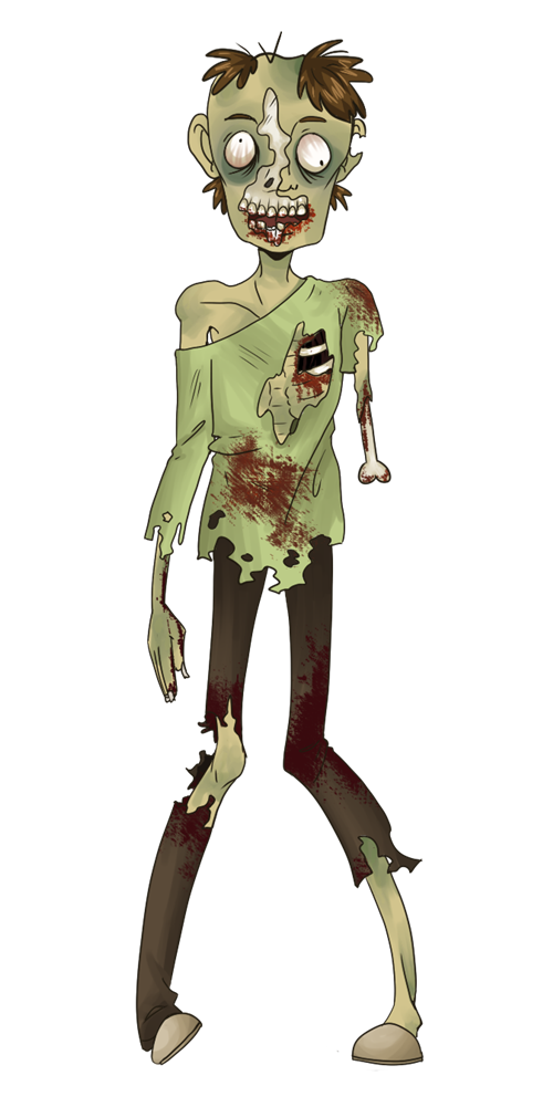 Free to Use & Public Domain Zombie Clip Art.