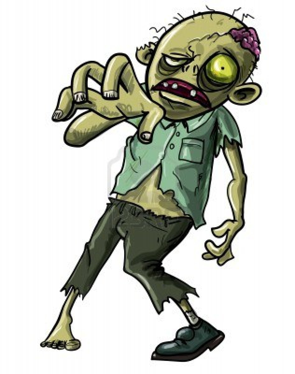 Zombies clipart - Clipground