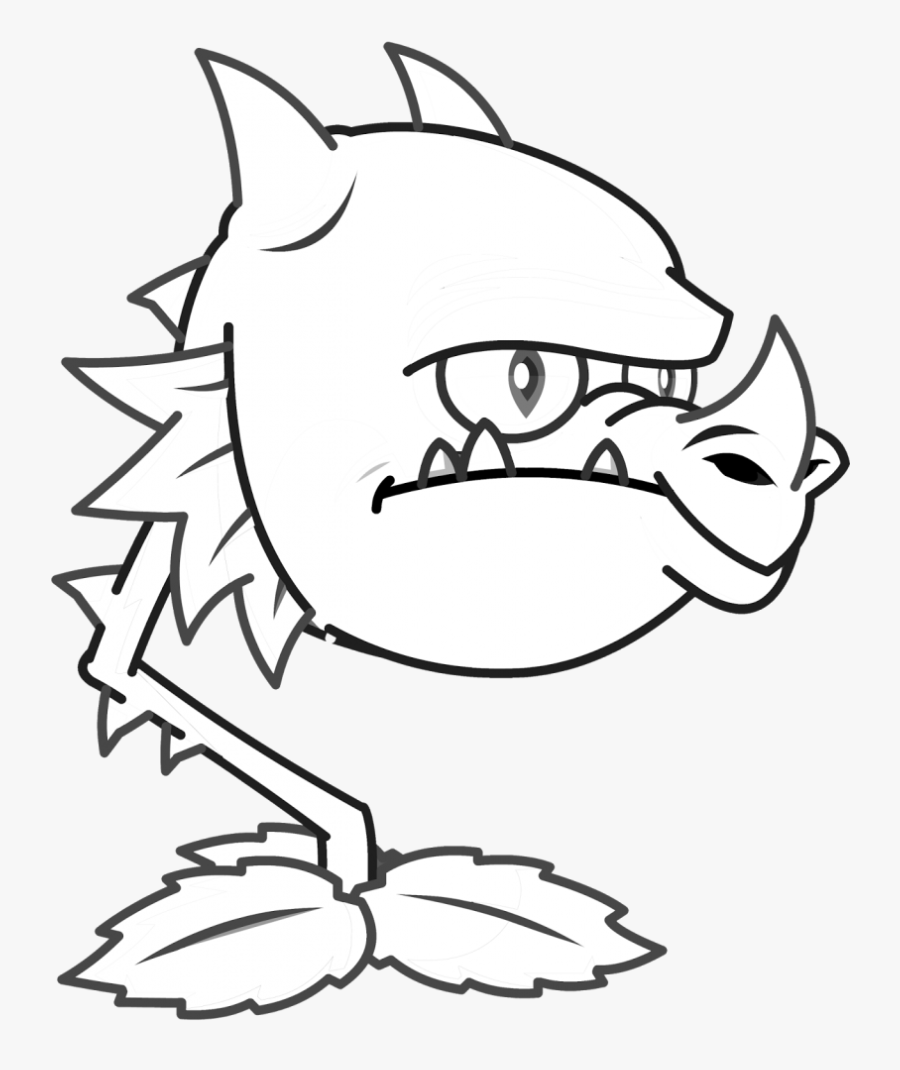 Dragon Plants Vs Zombies Coloring Pages.