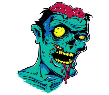 Free Zombie Clipart and Vector Graphics.