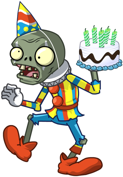 Birthdays Plants Vs Zombies Png Vector Royalty Free.