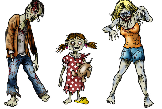 Free Zombie Cliparts, Download Free Clip Art, Free Clip Art.