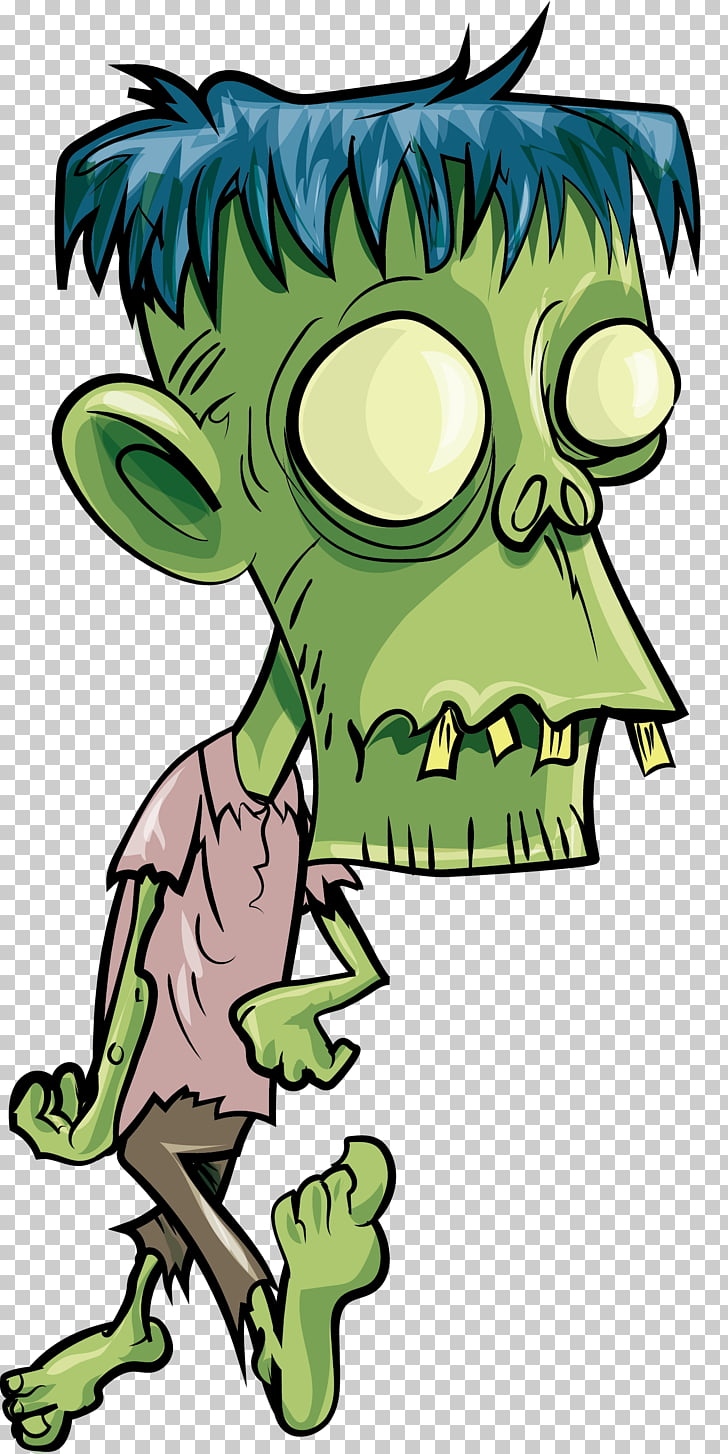 Zombie Euclidean , Zombie head, green zombie PNG clipart.