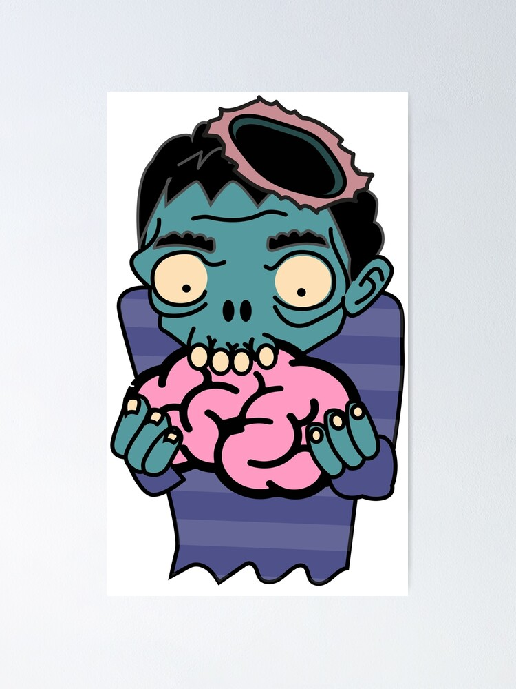 Zombie Eating Brain.
