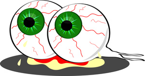 Zombie clipart eyes, Zombie eyes Transparent FREE for.