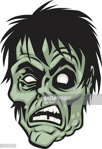 60 Top Zombie Face Stock Illustrations, Clip art, Cartoons, & Icons.