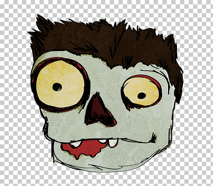 Zombie Face , Cute Zombie s PNG clipart.