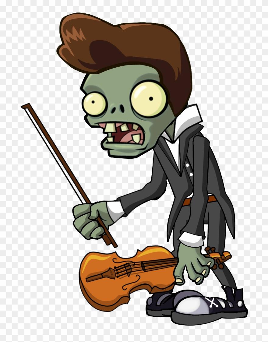 Violin Zombie.