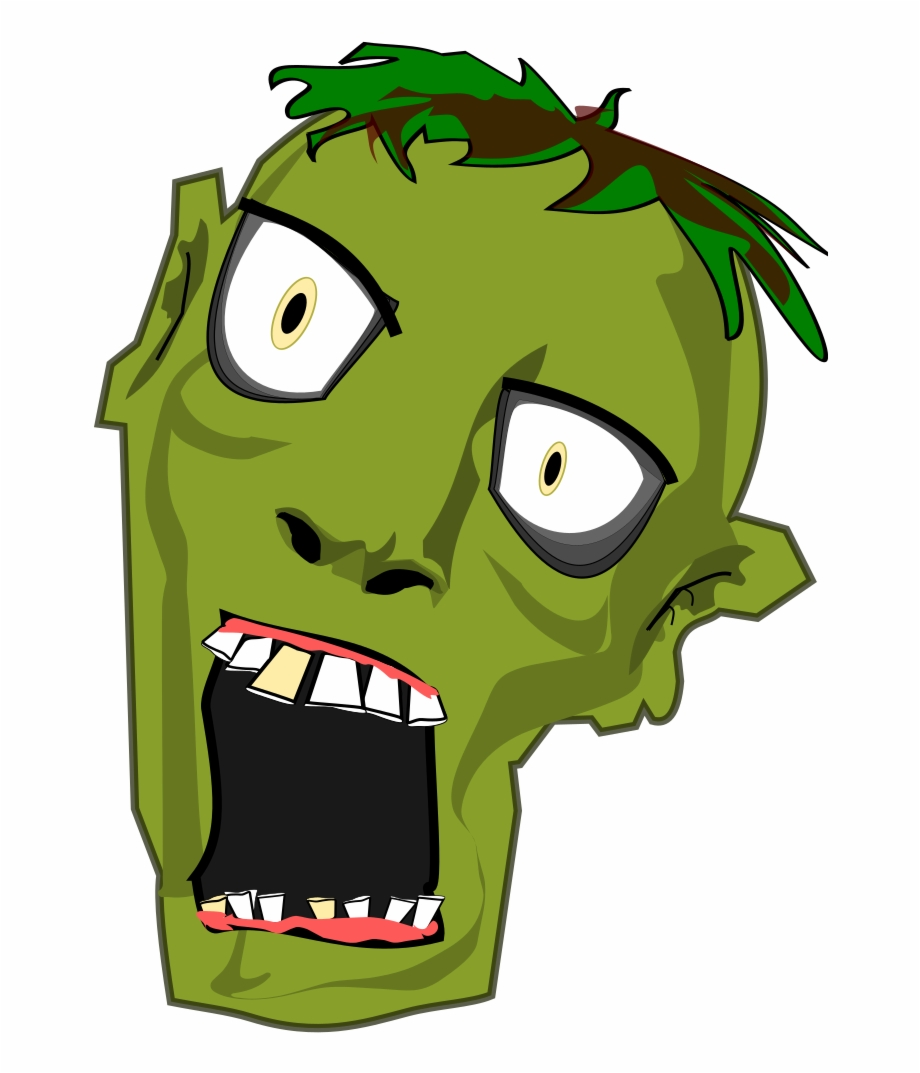Zombie Free To Use Clip Art.
