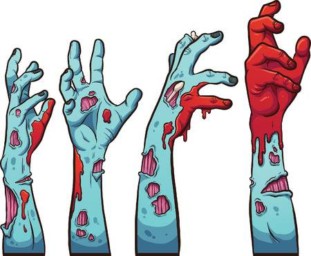 10,182 Zombie Hand Stock Illustrations, Cliparts And Royalty Free.