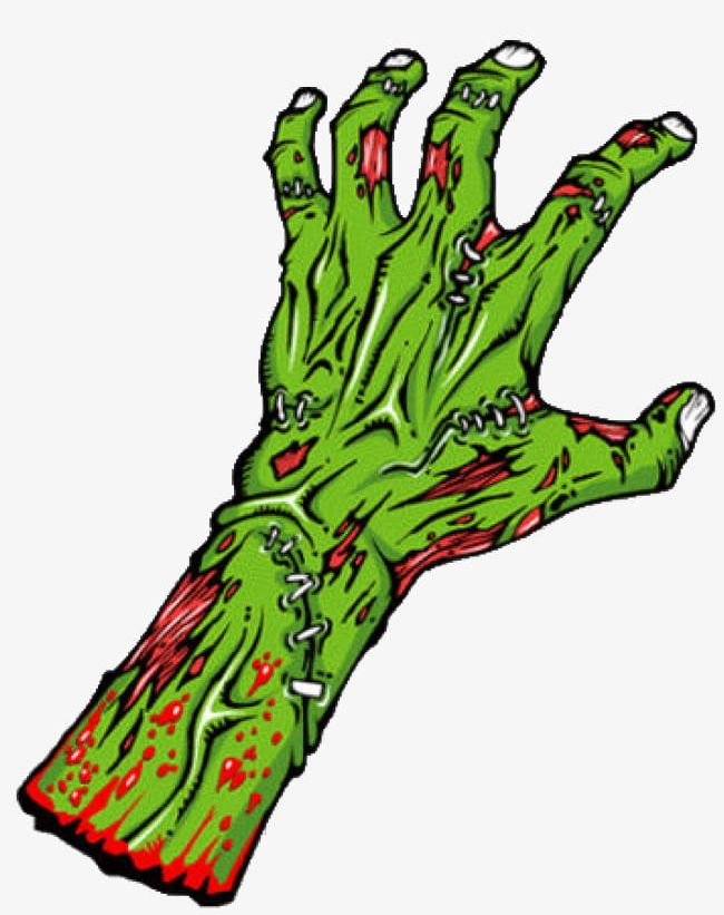 Zombie Hand PNG, Clipart, Button, Free, Ghost, Green, Halloween Free.