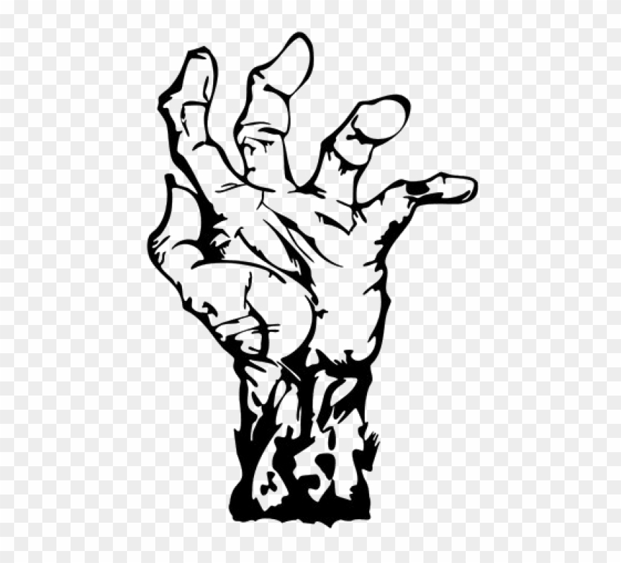 Free Png Download Zombie Hand Png Images Background.