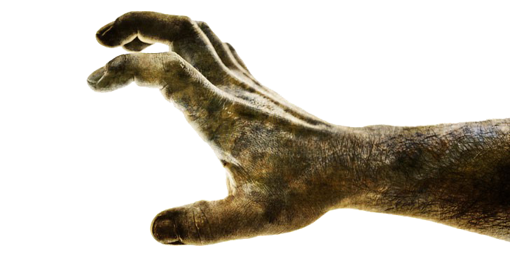 Zombie Hand PNG Download Image.