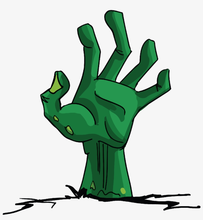 Zombie Hand Png High Quality Image.