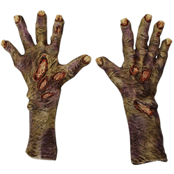 Pair Of Zombie Hands transparent PNG.