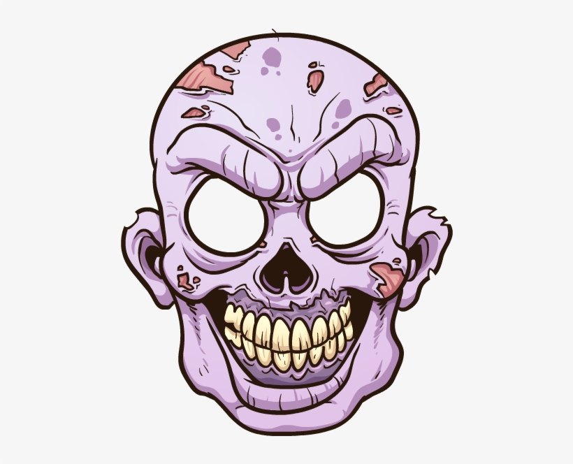 Zombie Head Png.