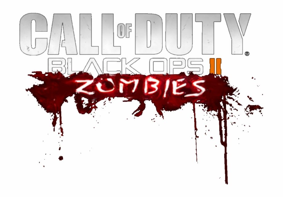 Call Of Duty Black Ops 2 Zombies Logo By Josael281999.